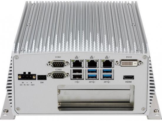 NISE3800P2E PC Fanless industriel Intel Core I7/i5/i3 avec 1 x PCI et 1 x  PCIeX4e