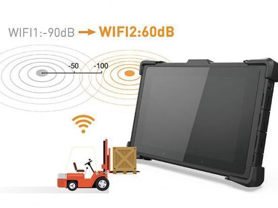 """CW-P10 Tablette durcie 10"""" puissante sous Windows 10 avec Intel Core i5/i7"""