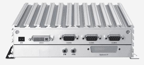 NISE105U PC Fanless Celeron J1900, DVI/HDMI 2 x LAN, 4 COM