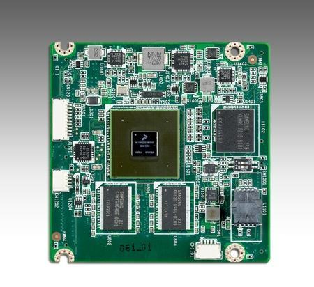 ROM-3420CD-MDA1E Module processeur (computer on module), FSL i.MX6 Dual 1GHz w/1GB RTX2.0 module (0~60C)