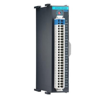 APAX-5028-AE Automate industriel modulaire, 8-ch Analog Output Module