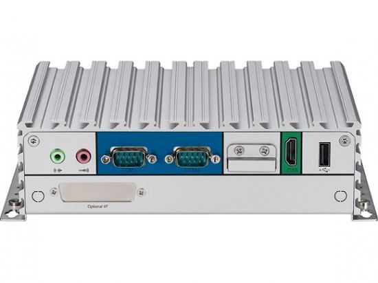 NISE105 PC Fanless Intel® Atom™ Processor E3826 Dual Core (fanless pc - 1M Cache, 1.46 GHz)