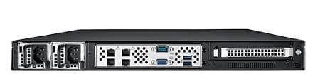 HPC-8108-65RA1 Châssis pour serveur de stockage 1U avec 8 baies disques hotswap