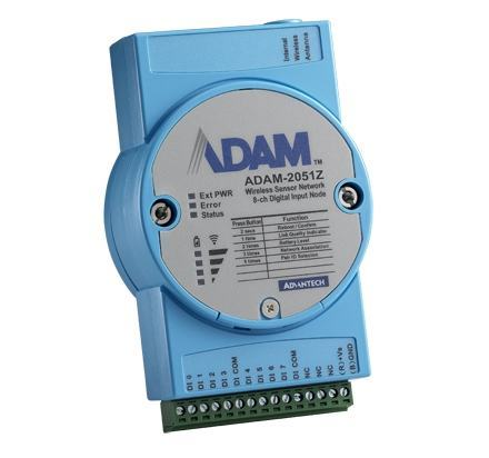 ADAM-2051Z-AE Module ADAM ZigBee, 8-ch Digital Input Node