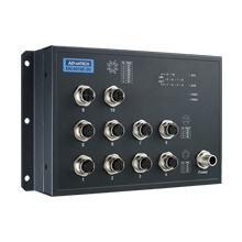 EKI-9510E-2GL Switch ferroviaire non managé EN50155 10xM12 FE/Gb/PoE + Bypass