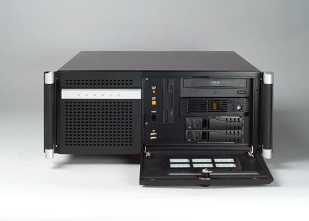 """ACP-4320MB-25BE Châssis silencieux 4U 250W pour PC rack 19"""" avec carte mère ATX/MATX et 2 disques extractibles"""