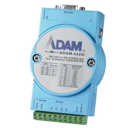 ADAM-4520I-AE Module ADAM convertisseur, Wide-Temp RS-232 to RS-422/485 Converter