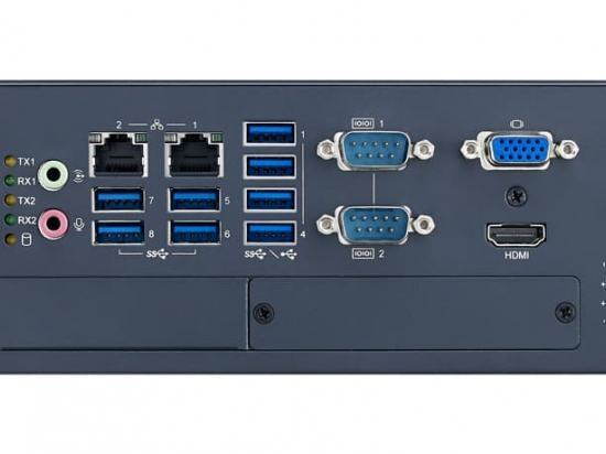 MIC-770W-20A1 PC Fanless puissant compatible Intel iCore / Xeon de 10ème génération