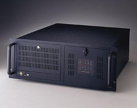 """ACP-4000BP-30CE Châssis silencieux 4U pour PC rack 19"""" industriel PICMG1.0 et 1.3"""