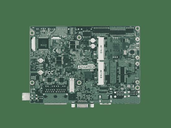 PCM-9310CD-S6A1E Carte mère industrielle biscuit 3,5 pouces, Intel N3060 SBC,DDR3L,HDMI,VGA,LVDS,mSATA