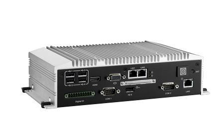 ARK-2120F-S8A1E PC industriel fanless, Atom D2550 1.8GHz w/ HDMI+VGA+LVDS+3*GbE+6*COM