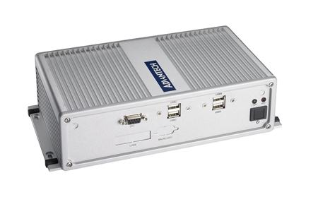 ARK-3360LZ-N4A1E PC industriel fanless, ARK-3360L-N4A1E, Atom N450, Wide temp, -40~70C