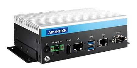 MIC-720AI-00A1 PC Fanless à base de NVIDIA Tegra X2 Jetson pour Edge IoT et PoE