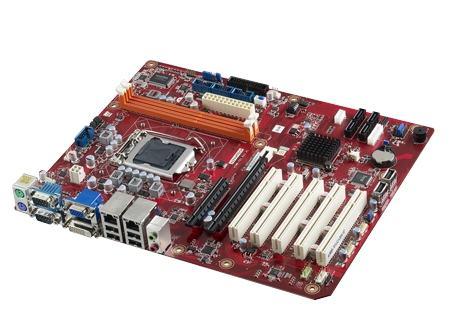AIMB-701VG-00A1E Carte mère industrielle, H61 LGA 1155 ATX Motherboard w/ PCIex 16, 1 LAN