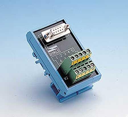 ADAM-3909-AE Bornier à vis ADAM pour connecteur série DB-9