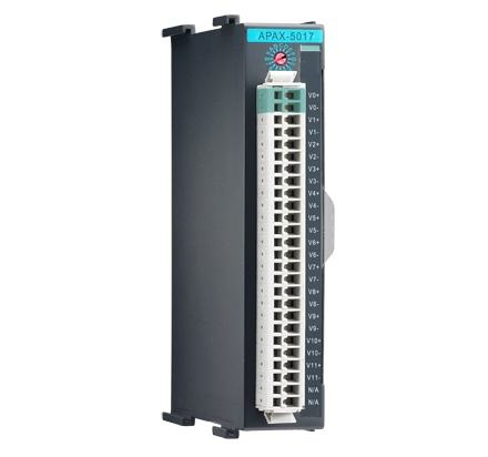 APAX-5017-AE Automate industriel modulaire, 12-ch Analog Input Module