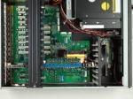 """Châssis silencieux 4U 500W pour PC rack 19"""" avec carte mère ATX/MATX et 2 disques extractibles"""
