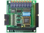Bornier ADAM pour carte d'acquisition de données, 50-Pin Flat Câble Terminal, DIN-rail Mount