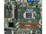 Carte mère industrielle, MicroATX with VGA/DVI 10COM/9 USB/DUAL LAN