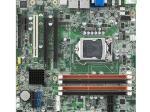 Carte mère industrielle, LGA1155 mATX VGA/DVI/HDMI/eSATA/PCIe 16 x1/Q77