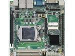 Carte mère industrielle, miniITX LGA1150.VGA/DVI/PCIe/1GbE