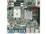 Carte mère industrielle, miniITX PGA VGA/LVDS/DP/mPCIe/2GbE, RoHS