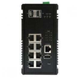 Switch PoE+ Gigabit 8 ports + 2 SFP