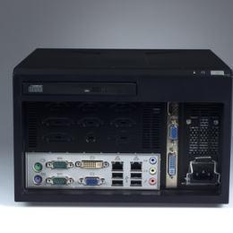 Châssis compact pour carte mère Mini ITX 180PSU