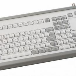 Clavier touchpad industriel à poser sur table 106 touches IP65 USB FR: AZERTY