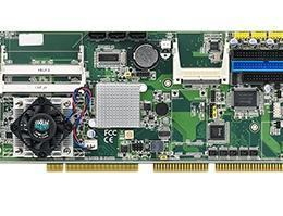 Carte mère industrielle PICMG 1.0 ISA/PCI, Onboard Atom D525 CPU with VGA/ Dual GbE LAN