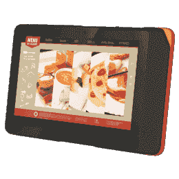 "Tablette industrielle 10"" avec Intel® Atom™ x5-Z8350,Mobile POS Android Grise, Adaptateur EU"