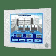 "Moniteur ou écran industriel tactile, 17"" SXGA Ind.LED Monitor w/ Resistive TS (Combo)"