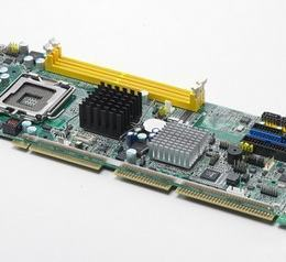 Carte mère industrielle PICMG 1.0 ISA/PCI, LGA775 FSBC with VGA/ Single GbE LAN/HISA, RoHS