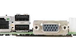 Carte mère embedded Pico ITX 2,5 pouces, MIO-2260 A101-1 Atom N455,MIO-Ultra,DDR3,1 LAN