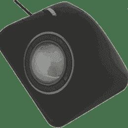 Trackball industrielle laser ergonomique montage en panneau 50mm