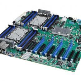 Carte mère LGA 4189 pour serveur Intel Xeon Scalable  16x DDR4, 4 x PCIe x16, 10 x SATA3, 8 x USB 3.2 (Gen 1), 2x 10Gb LAN, et IPMI