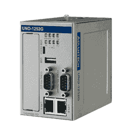 PC industriel fanless à processeur Quark X1001,256MB RAM,2xEthernet,2xCOM,8xDIO,2xmPCIe