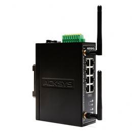 Switch manageable 8 ports Ethernet avec WiFi (802.11a,b,g,h) intégré