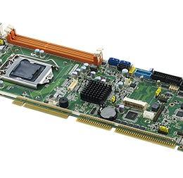Carte mère industrielle PICMG 1.0 ISA/PCI, VGA/DVI/ Dual GbE LAN/HISA