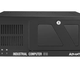 """Châssis industriel rack 19"""" couleur noire pour carte mère ATX/MATX"""