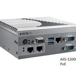 PC industriel pour application de vision, N3160 1.6G, 2 PoE, 1 LAN, 4 USB3.0, 2 COM, DIO