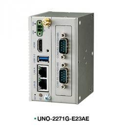Mini PC Fanless avec Atom 2xRS232, 2 LAN, 1 HDMI et 1 USB 3
