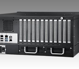 Châssis serveur industriel, HPC-7400 4U 12-slot server Châssis serveur industriel (w/700W SPS)