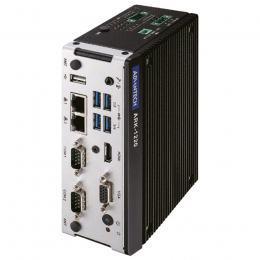 PC fanless compact Rail Din avec Intel Atom E940 avec port Lan isolé et ports COM