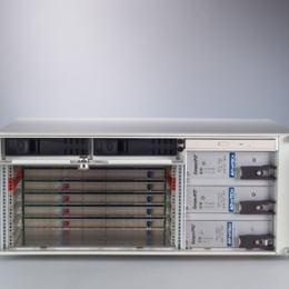 Châssis pour cartes CompactPCI, 4U CPCI enclosure w/ HDD bay, TP B/P, w/o PSU R2