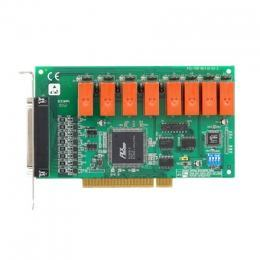 Carte acquisition de données industrielles sur bus PCI, 8ch Relay & 8ch Isolated DI Card