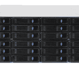 Serveur industriel de stockage, 4U 24-bay Storage Server, support Intel Xeon E3