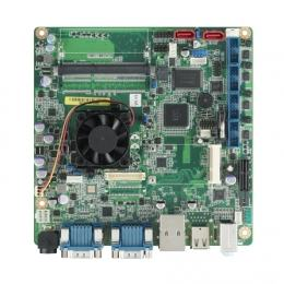 Carte mère Mini-ITX semi-industrielle, Intel Atom CedarView m-ITX D2550 VGA/LVDS/HDMI