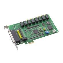 Carte acquisition de données industrielles sur bus PCIExpress, 8 sorties relais & 8 Entrées TOR