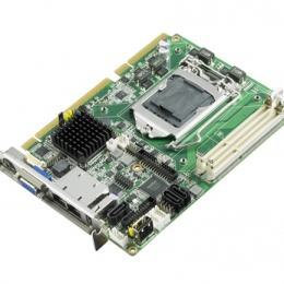 Carte mère industrielle demi-longueur bus PCI/PCIE, PICMG 1.3 H/S SBC, H61, 2GbE, 2 display